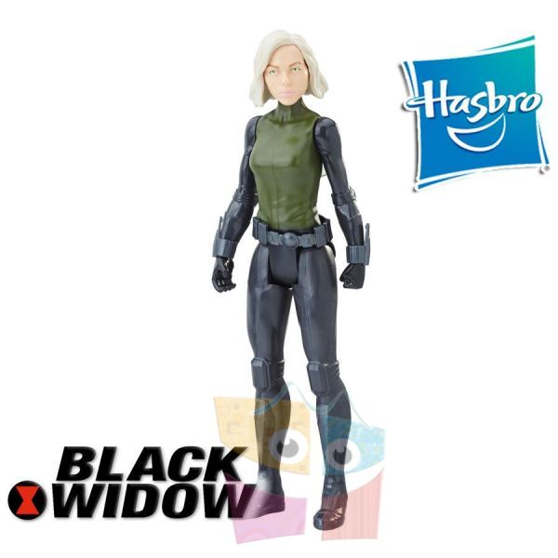 Muñeco Black Widow 30 cms - Hasbro - Titan Hero Series