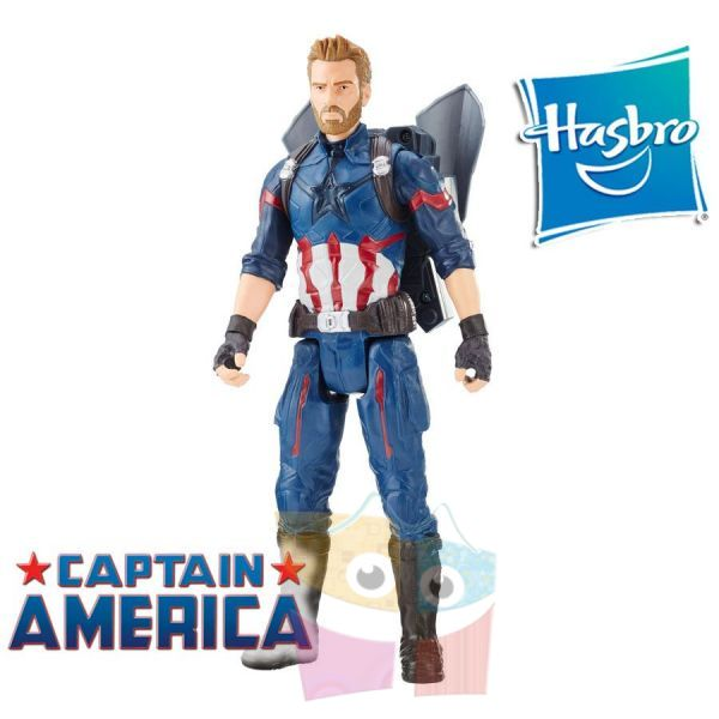 Muñeco FX Captain America 30 cms - Hasbro - Titan Hero Series