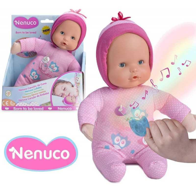 Muñeca Nenuco Musical - Rosada - 25 cms