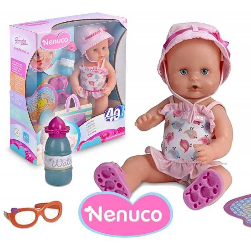 Muñeca Nenuco Sunny - 35 cms