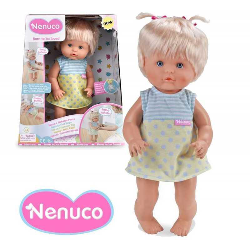 Muñeca Nenuco Primeros Pasos - 35 cms