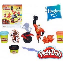 Los Increíbles Disney / Pixar - Play-Doh - Hasbro