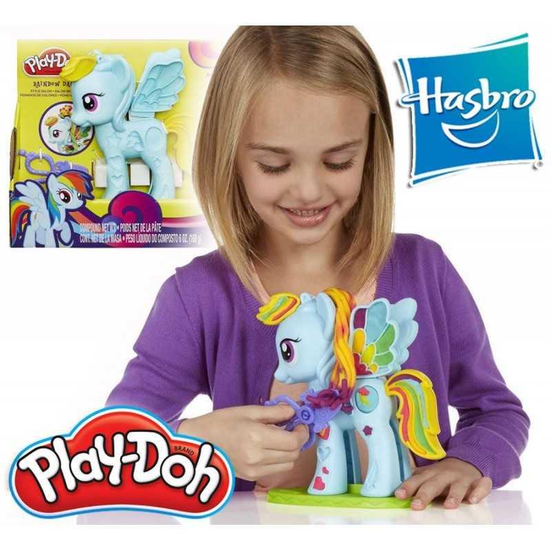 Rainbow Dash Peinados de Colores - Mi Pequeño Pony - Play-Doh - Hasbro