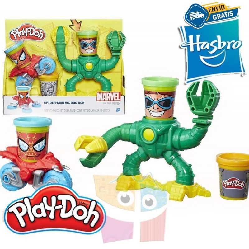 Spider-Man vs. Doc Ock Marvel - Play-Doh - Hasbro