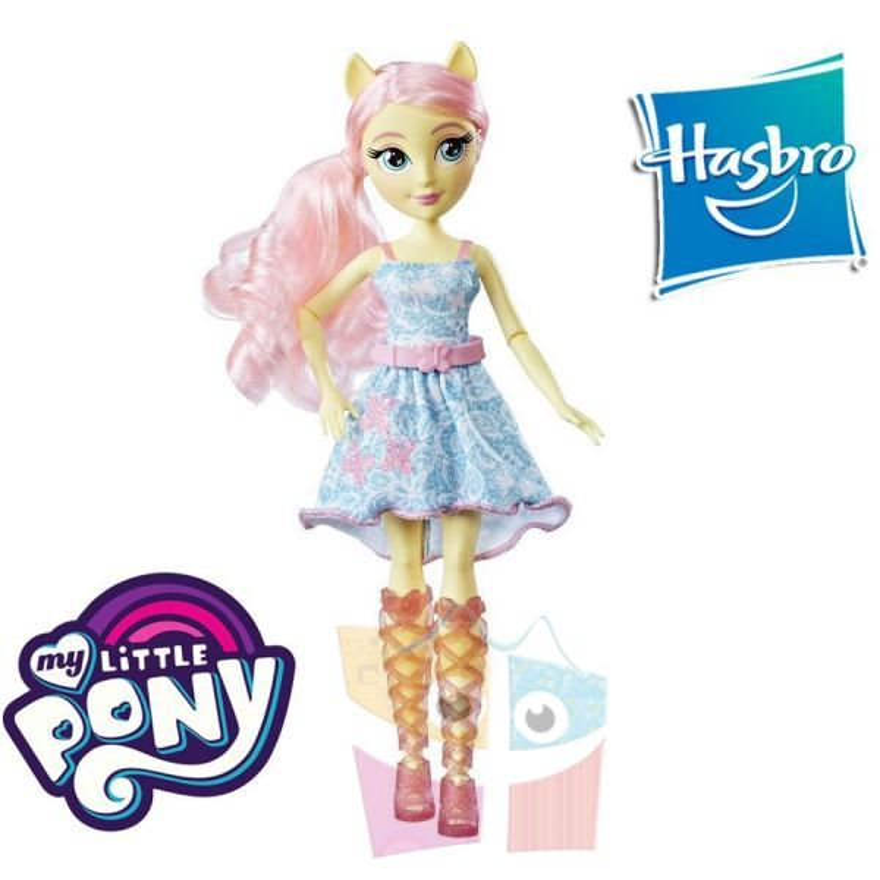 Equestria Girls Fluttershy Mi Pequeño Pony Muñeca Clasica - Hasbro