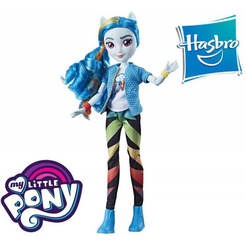 Equestria Girls Rainbow Dash Mi Pequeño Pony Muñeca Clasica - Hasbro