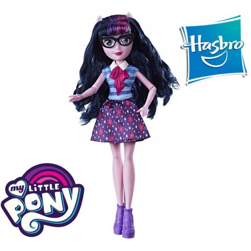 Equestria Girls Twilight Sparkle Mi Pequeño Pony Muñeca Clasica - Hasbro