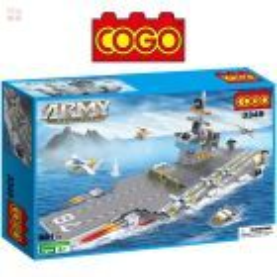 Portaaviones Liaoning - Juego de Construcción - Cogo Blocks
