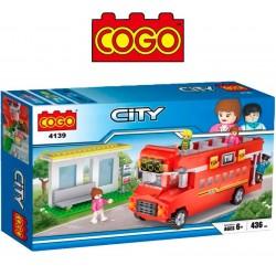 City Tour - Juego de Construcción - Cogo Blocks - 436 piezas