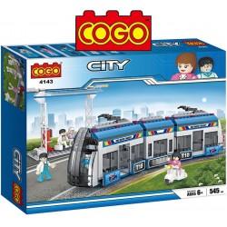 Estacion de Tren - Juego de Construcción - Cogo Blocks - 545 piezas