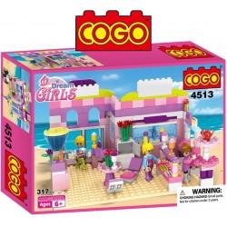 Tienda Drean Girl - Juego de Construcción - Cogo Blocks - 317 piezas