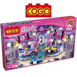 Escenario de Musica - Juego de Construcción - Cogo Blocks - 442 piezas