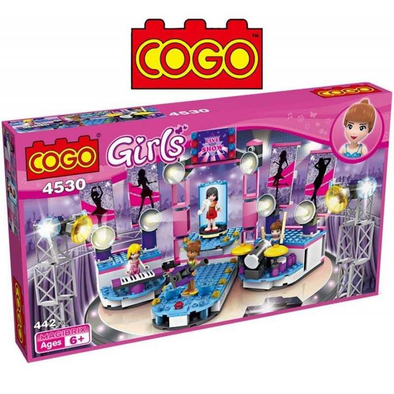 Escenario de Musica - Juego de Construcción - Cogo Blocks
