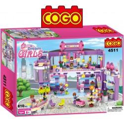 Shopping - Juego de Construcción - Cogo Blocks - 810 piezas