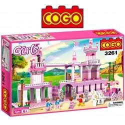 Castillo de Princesa - Juego de Construcción - Cogo Blocks - 605 piezas