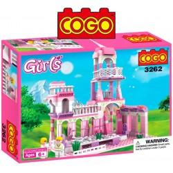 Castillo de Princesa - Juego de Construcción - Cogo Blocks - 254 piezas