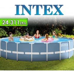 Piscina Intex - 24.311 Ltrs. - Redonda - Estructura Metálica - 26752