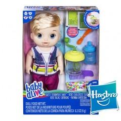 Muñeco Baby Alive Ricas Comiditas - Hasbro - Rubio
