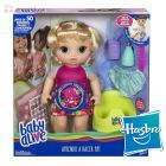 Muñeca Baby Alive Va al Baño - Hasbro - Rubia