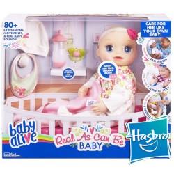 Muñeca Baby Alive Mi bebita de verdad - Hasbro - Rubia