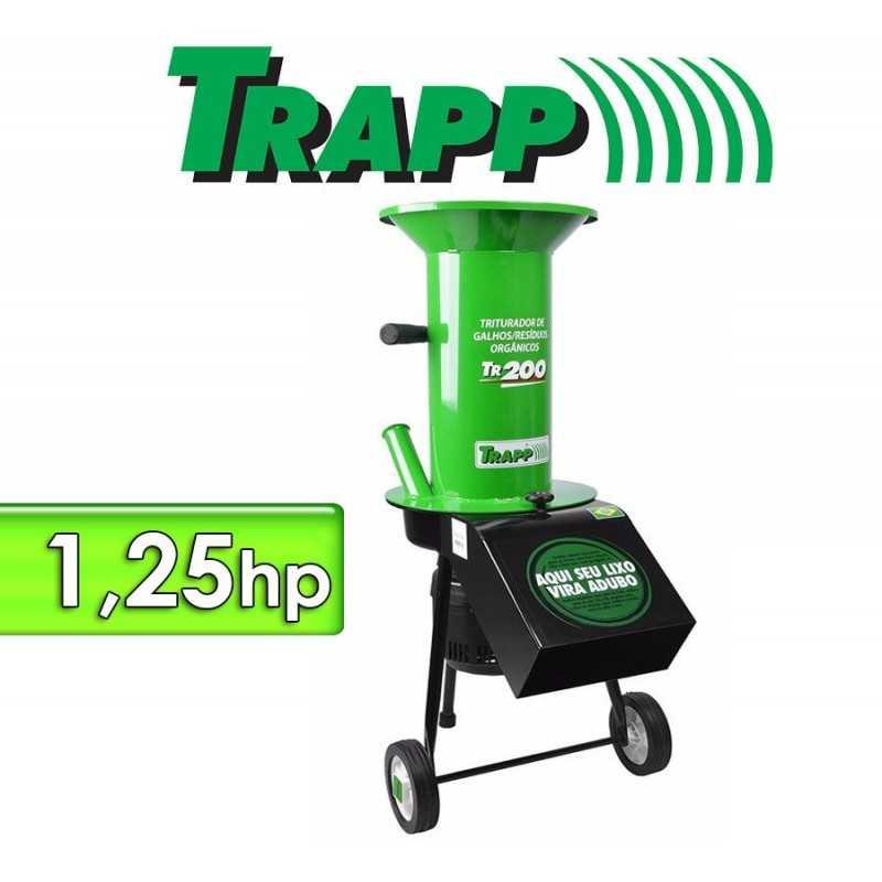 Triturador de ramas, troncos y residuos organicos - Trapp - TR 200
