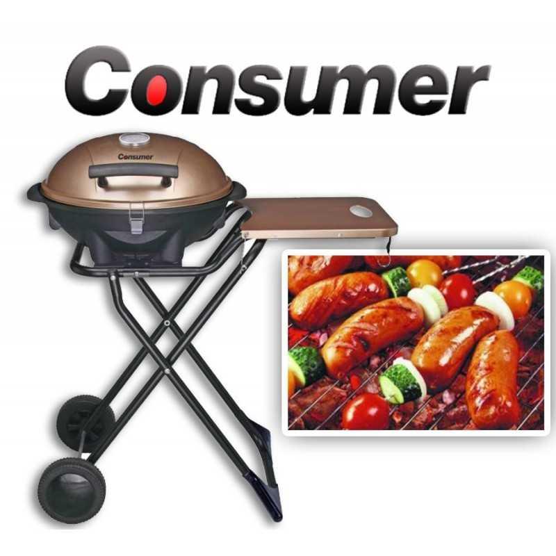 Parrilla Grill Eléctrica Plegable - Consumer
