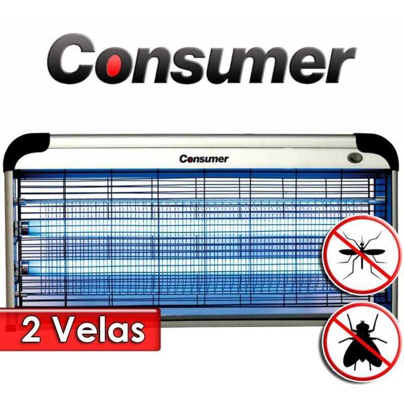 Mata Insectos Eléctrico de 2 Velas 40 Watts - Consumer - CR-40W