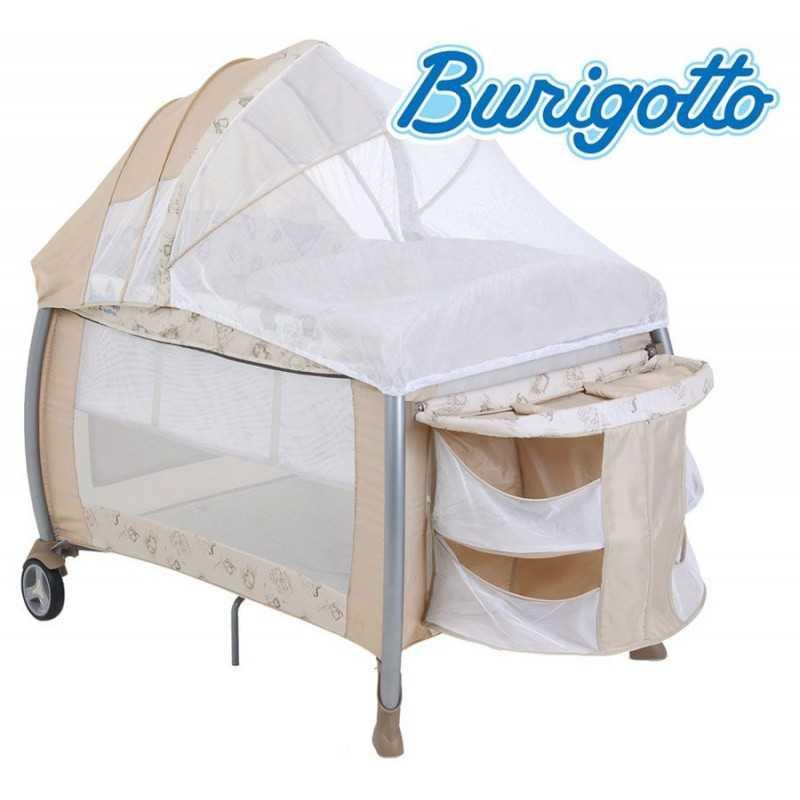 Cuna Corralito con Cambiador - Burigotto - Amore Beige 5044