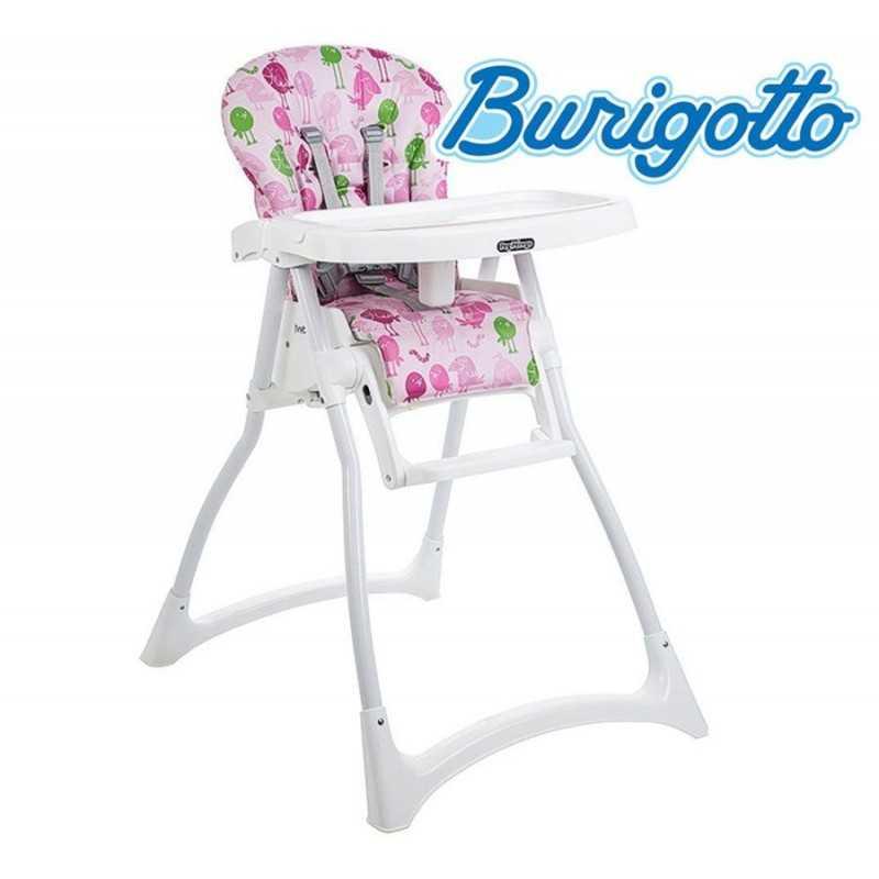 Sillita de alimentación para bebé - Burigotto - Merenda IMSMER Passarinho Rosa
