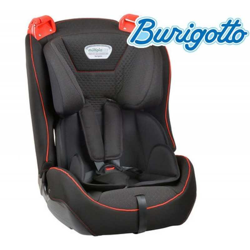 Asiento para auto para bebés y niños - Burigotto - Multipla Gris y Rojo IXAU3037PR92