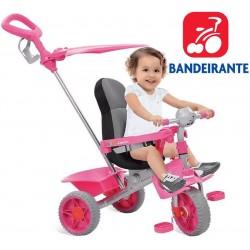 Triciclo Smart Comfort Rosa - Bandeirante - 257