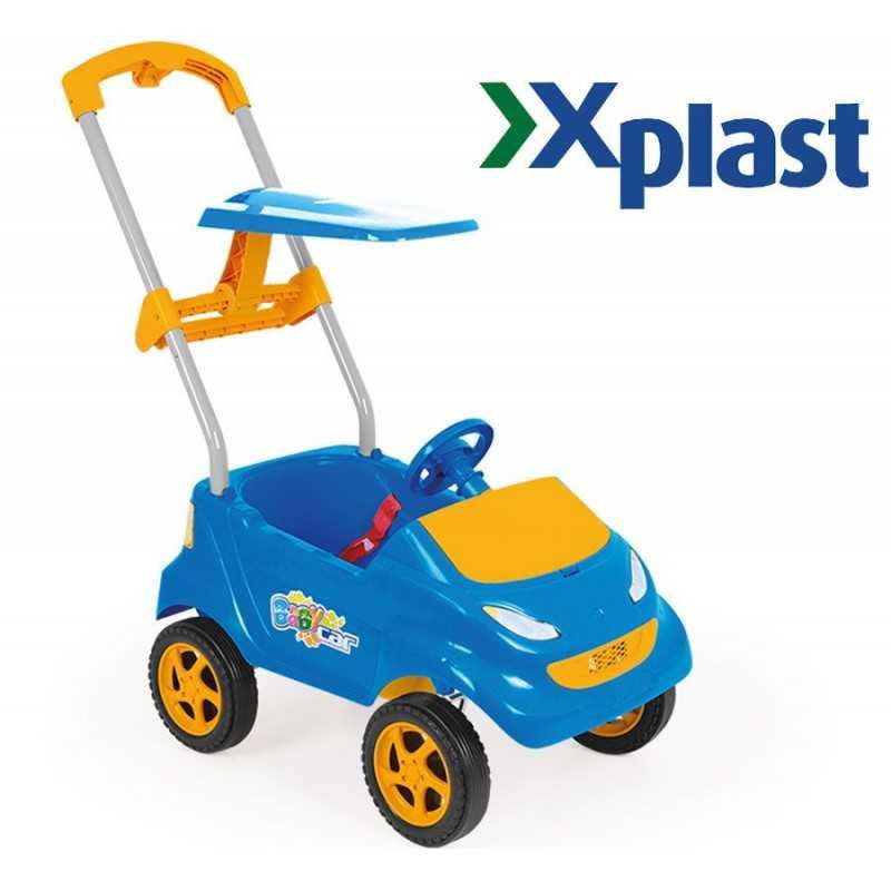 Babycar Azul - Abba - Xplast 4006