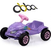 Auto a Pedal Speed Play Lila - Abba - Homeplay 4052