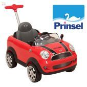 Autito Push Car Mini Cooper Rojo - Prinsel - PR1679