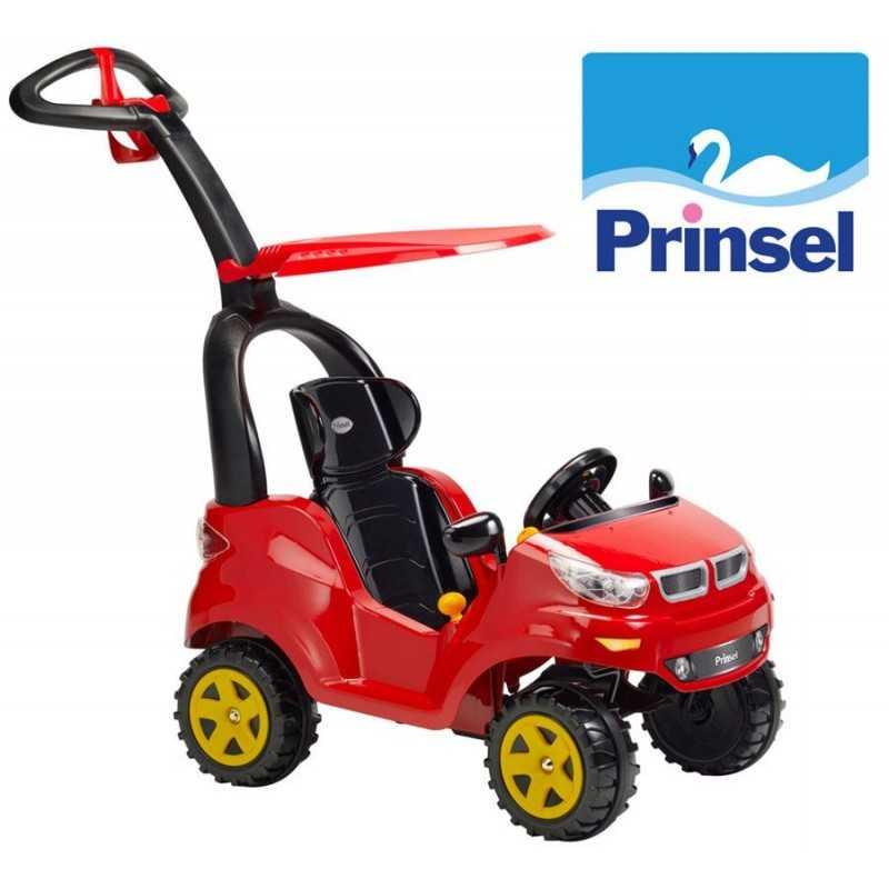 Autito Push Car Adventure Rojo - Prinsel - PR1630