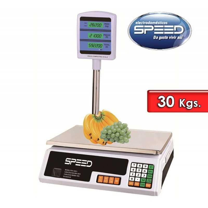 Balanza Electronica 30 Kg con columna - Speed - SB30KCC