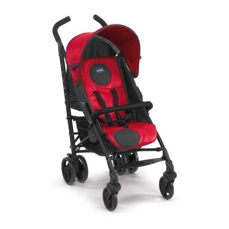 Carrito de bebé - Chicco - Lite Way Basic Red Wave 60886-93