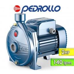 Electrobomba Centrífuga 140 lpm y 2 HP - Pedrollo - CPm 190