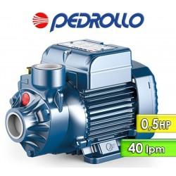 Motobomba Periferica 40 lpm y 0,5 HP - Pedrollo - PKm 60