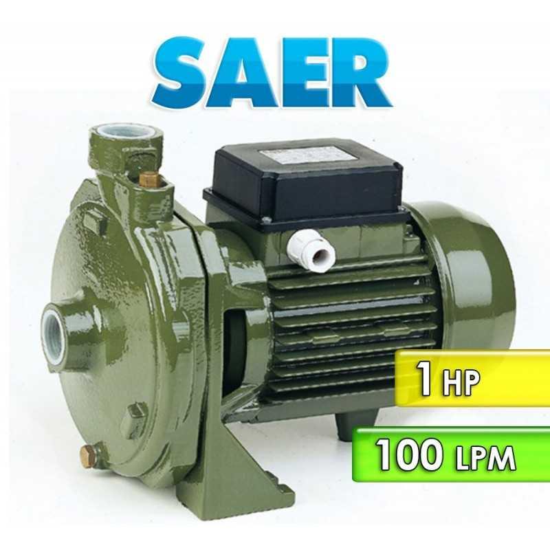 Motobomba Centrifuga Domiciliaria 100 LPM y 1 HP - Saer - CMP 79