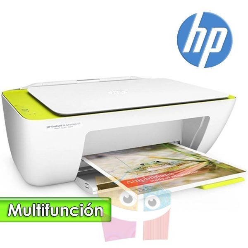 Impresora Multifuncion - HP - Deskjet Ink Advantage 2135 Todo en uno
