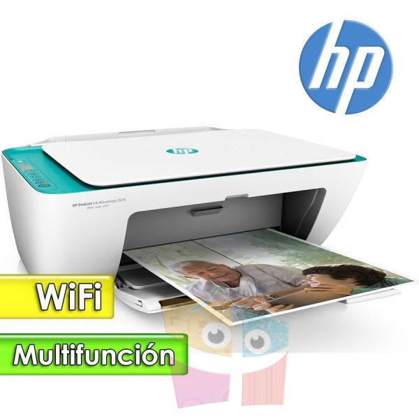 Impresora WiFi Multifuncion - HP - Deskjet Ink Advantage 2135 Todo en uno
