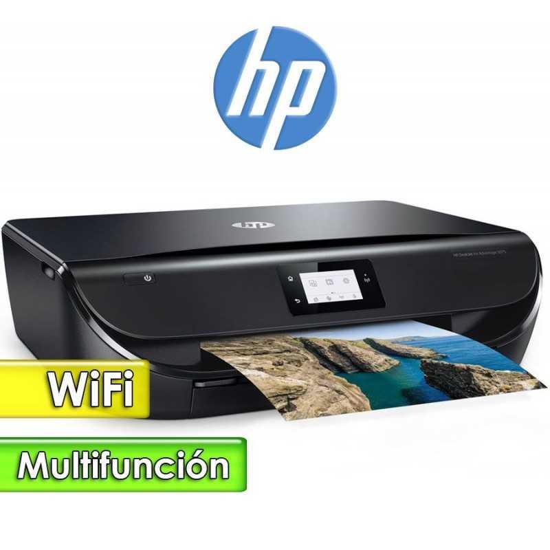 Impresora WiFi Multifuncion - HP - DeskJet Ink Advantage 5075 Todo en uno