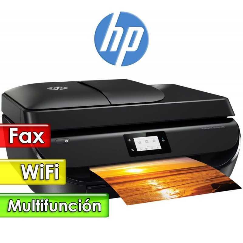 Impresora WiFi Fax Multifuncion - HP - DeskJet Ink Advantage 5275 Todo en uno