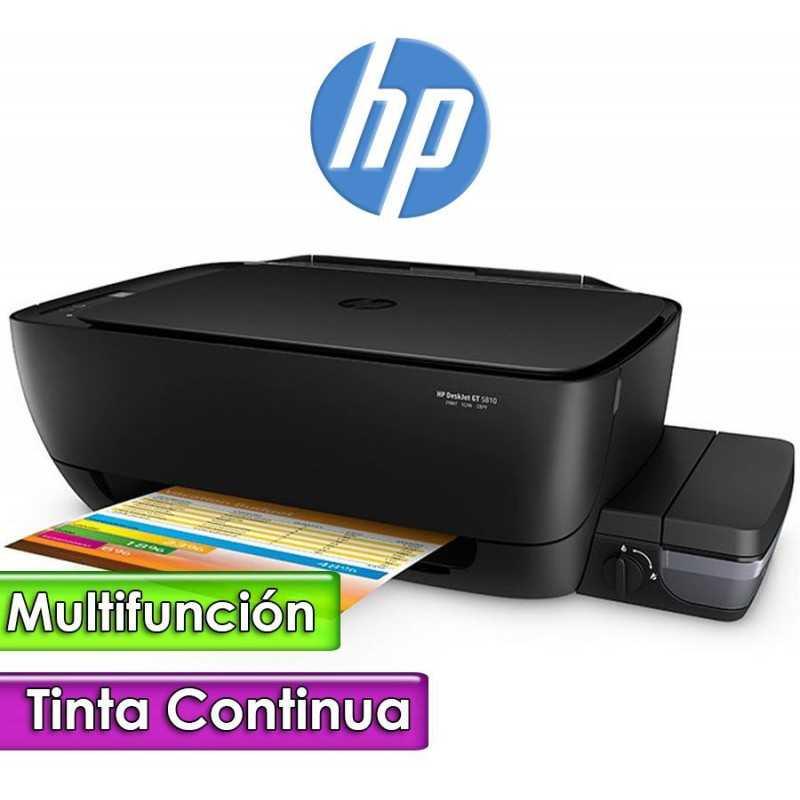 Impresora WiFi Fax Multifuncion - HP - DeskJet GT 5810 Todo en uno