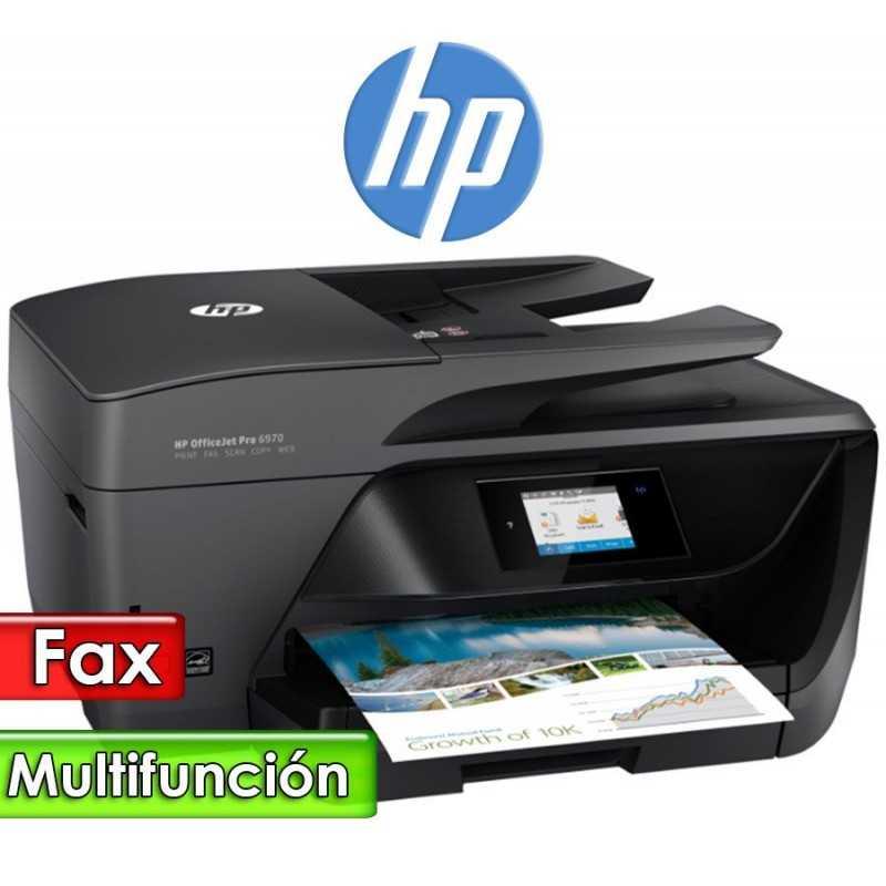 Impresora Multifuncion Sistema de Tinta Continua - HP - OfficeJet Pro 6970 Todo en uno