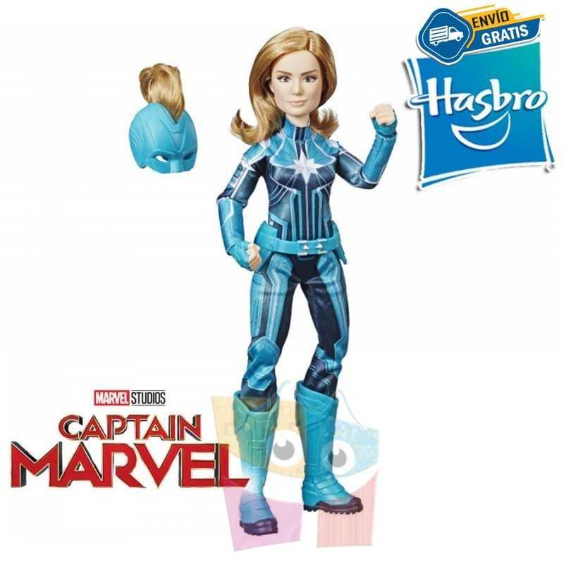Muñeca Capitana Marvel Starforce 30 cms - Hasbro