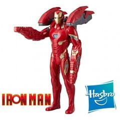 Muñeco Iron Man Tecnomisión 35 cms. - Hasbro - Marvel Avengers: Guerra del Infinito