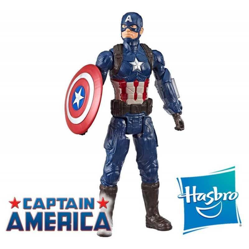 Muñeco Capitan America Endgame 30 cms - Hasbro - Titan Hero Series