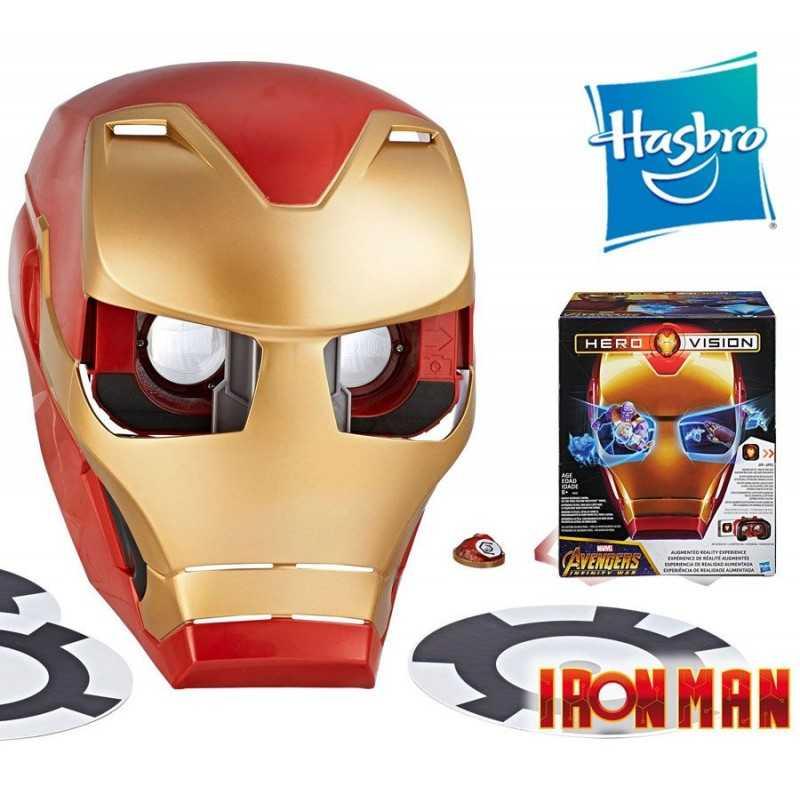 Mascara Hero Vision Iron Man Experiencia RA Marvel Infinity War - Hasbro